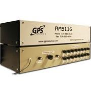 GPS Source RMS116 - 1x16 Rack Mount GPS Splitter